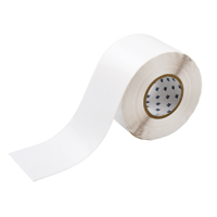 """Brady THT-107-483 Polyester, White, 4.000, 300 ft., 300 ft, 4.200, 1, 1 Roll Cont., R6007 Labels"""