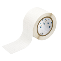 """Brady THT-14-498-10 Vinyl Cloth, White, 0.650, 0.200, 0.700, 0.300, 2.950, 4, 10,000, R6202 Labels"""