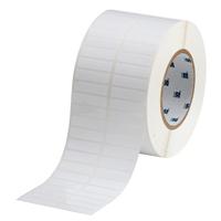 """""""Brady THT-147-422-10 Polyester, White, 1.500, 0.375, 1.650, 0.475, 3.350, 2, 10,000, R6007 Labels"""""""