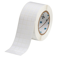 """Brady THT-149-422-10 Polyester, White, 0.500, 0.500, 0.600, 0.625, 2.500, 4, 10,000, R6002 Labels`"""