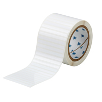 """Brady THT-16-423-2.5 Polyester, White, 3.000, 0.250, 0.375, 3.200, 1, 2,500, R6002 Labels"""