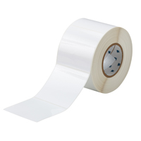 """Brady THT-161-423-1 Polyester, White, 4.000, 4.000, 4.125, 4.200, 1, 1,000, R6007 Labels"""