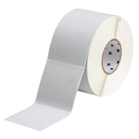 """Brady THT-161-486-1 Polyester, Silver, 4.000, 4.000, 4.125, 4.200, 1, 1,000, R4307 Labels"""