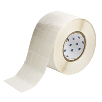 """Brady THT-165-498-5 Vinyl Cloth, White, 0.800, 1.437, 0.900, 1.562, 3.700, 4, 5,000, R6207 Labels"""