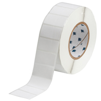 """Brady THT-17-408-3 Paper, White, 2.000, 1.000, 1.125, 2.200, 1, 3,000, R6100 Labels"""