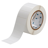 """Brady THT-17-425-3 Polypropylene, White, 2.000, 1.000, 1.125, 2.200, 1, 3,000, R4302 Labels"""