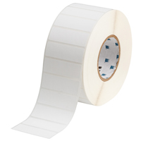 """Brady THT-18-449-3 Polypropylene, White, 3.000, 1.000, 1.125, 3.200, 1, 3,000, R6202 Labels"""