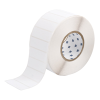 """Brady THT-18-489-3 Polyester, White, 3.000, 1.000, 1.125, 3.200, 1, 3,000, R4300 Labels"""