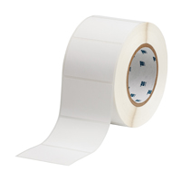 """Brady THT-19-449-1 Polypropylene, White, 3.000, 2.000, 2.125, 3.200, 1, 1,000, R6202 Labels"""