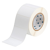 """Brady THT-19-488-1 Polyester, White, 3.000, 2.000, 2.125, 3.200, 1, 1,000, R4300 Labels"""