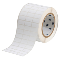 """Brady THT-5-488-10 Polyester, White, 1.000, 0.500, 1.075, 0.600, 3.350, 3, 10,000, R4307 Labels"""