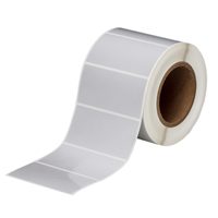 """Brady THT-55-413-1 Polyester, Silver, 4.000, 2.000, 2.125, 4.200, 1, 1,000, R6207 Labels"""