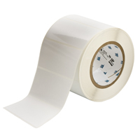 """Brady THT-55-423-1 Polyester, White, 4.000, 2.000, 2.125, 4.200, 1, 1,000, R6007 Labels"""