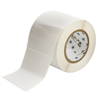 """Brady THT-55-483-1 Polyester, White, 4.000, 2.000, 2.125, 4.200, 1, 1,000, R6007 Labels"""