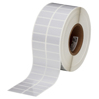 """Brady THT-6-413-10 Polyester, Silver, 1.500, 0.750, 1.650, 0.875, 3.350, 2, 10,000, R6700 Labels"""