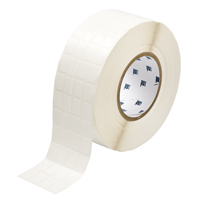 """Brady THT-68-498-10 Vinyl Cloth, White, 0.500, 0.750, 0.600, 0.850, 2.500, 4, 10,000, R6202 Labels"""