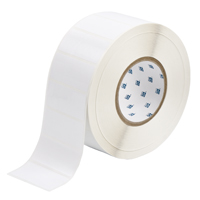 """Brady THT-7-423-3 Polyester, White, 2.750, 1.250, 1.375, 2.950, 1, 3,000, R6002 Labels"""