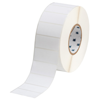 """Brady THT-7-489-3 Polyester, White, 2.750, 1.250, 1.375, 2.950, 1, 3,000, R4300 Labels"""