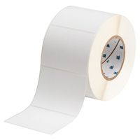 """Brady THT-76-449-1 Polypropylene, White, 4.000, 3.000, 3.125, 4.200, 1, 1,000, R6207 Labels"""