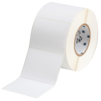 """Brady THT-76-489-1 Polyester, White, 4.000, 3.000, 3.125, 4.200, 1, 1,000, R4307 Labels"""