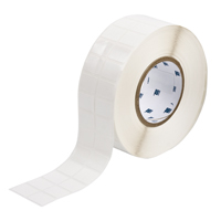"""Brady THT-88-498-5 Vinyl Cloth, White, 1.000, 0.750, 1.100, 0.875, 2.300, 2, 5,000, R6200 Labels"""
