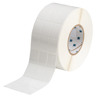 """Brady THT-89-498-5 Vinyl Cloth, White, 1.000, 1.440, 1.100, 1.562, 3.400, 3, 5,000, R6207 Labels"""