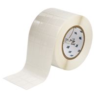 """Brady THT-91-498-5 Vinyl Cloth, White, 0.750, 0.937, 0.875, 1.062, 3.500, 4, 5,000, R6207 Labels"""