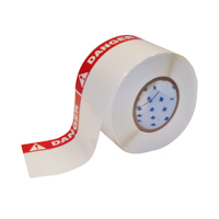 """Brady THTEL-25-483-1-DA Polyester, Red on White, 6.000, 4.000, 6.125, 4.200, 1, 2 rolls of 500, R6007 Labels"""