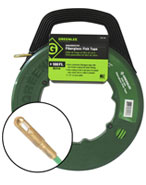 Greenlee 542-250 250' Fish Tape with Reel