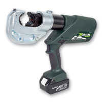 Greenlee EK1240L230 12-Ton Battery Crimping Tool w/230VAC Adapter