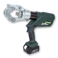 Greenlee EK12IDL120 Battery-Powered Crimping Tool w/120V AC Adapter