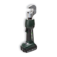Greenlee EK210L12 1.5-Ton Battery Crimping Tool w/12V Charger