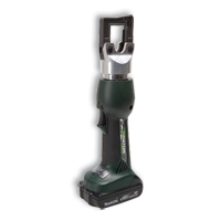 Greenlee EK410L22 4 Ton Battery Powered Crimping Tool w/230V Charger