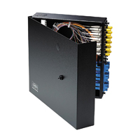 """Hubbell FTU4SP 4 FSP-series adapter panels, 11öH x 13.6öW x 2.5öD"""