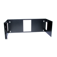 """Hubbell BRMCCMB19X7X4 Wall Mount Bracket, Side-Hinged, 7.00öH x 19öW x 4öD"""
