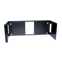 """Hubbell BRMCCMB19X7X8 Wall Mount Bracket, Side-Hinged, 7.00öH x 19öW x 8öD"""