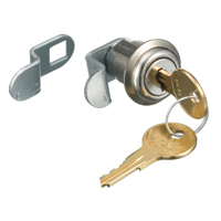 """Hubbell FLOCK1 Lock Kit, Chromed Steel"""
