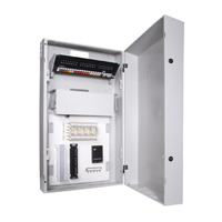 """Hubbell IDF24 RE-BOX« û Commercial Equipment Cabinet, 24öH x 24.2öW x 10öD, Light Gray"""