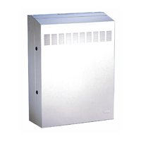 """Hubbell RE4X RE-BOX« û Commercial Equipment Cabinet, 22ö Max Swtich, 42öD x 24.2öH x 10öW, Light gray"""