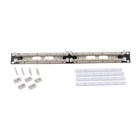 """""""Hubbell 110RM15NT Rack mount kit, 100-pair with 5-pair connecting blocks 1U"""""""