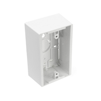 """Leviton 42777-1*A Single-Gang Surface Mount Boxes, 1.89"""" Deep"""