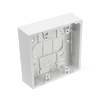 """Leviton 42777-2*B Dual-Gang Surface Mount Boxes, 1.45"""" Deep"""