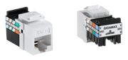 """Leviton 5G108-B*5 GigaMax 5e Connector Quickpack, CAT 5e, 25-pack"""