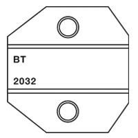 Paladin Tools PA2032 1300/8000 Series British Telecom Modular Die