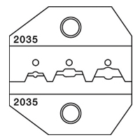 Paladin Tools PA2035 1300/8000 Series Insulated Terminal Die