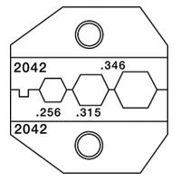 """Paladin Tools PA2042 1300/8000 Series CATV """"F"""" Coax Die"""