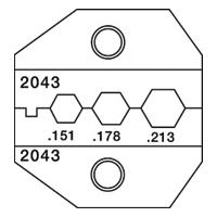 Paladin Tools PA2043 1300/8000 Series SMA FC Fiber Die