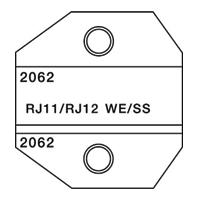 Paladin Tools PA2062 1300/8000 Series RJ11 RJ12 Die