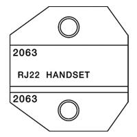 Paladin Tools PA2063 1300/8000 RJ22 Handset Die