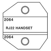 Paladin Tools PA2064 1300/8000 Series RJ45 AMP Die